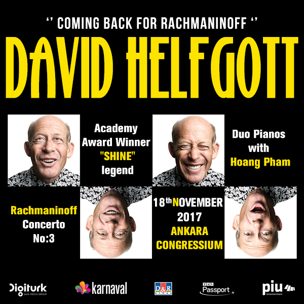David Helfgott concert in Ankara